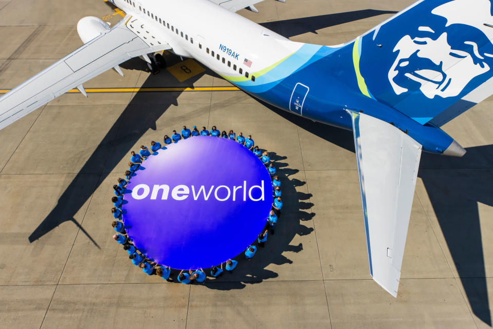 A World Of Possibilities Alaska Airlines Officially Joins Oneworld