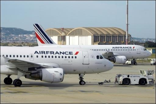 Air-France-Flugzeuge
