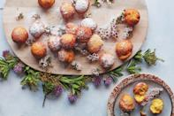 """These yeasted pumpkin doughnuts are made with whole wheat four, which gives them rich, nutty flavor, and kefir (though you could use buttermilk or plain yogurt instead). <a href=""""https://www.epicurious.com/recipes/food/views/big-easy-pumpkin-doughnuts-beignets?mbid=synd_yahoo_rss"""" rel=""""nofollow noopener"""" target=""""_blank"""" data-ylk=""""slk:See recipe."""" class=""""link rapid-noclick-resp"""">See recipe.</a>"""