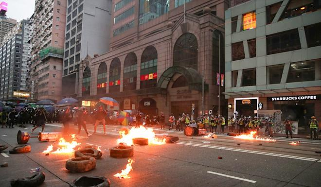 The Hong Kong protests have heightened the mainland's sensitivities. Photo: Winson Wong