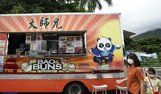 Hong Kong food truck operators are facing a decline in business. Photo: Felix Wong