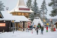 """Since the 1980s, tourism chiefs have marketed the Arctic Circle town of Rovaniemi as the """"real"""" home of Santa Claus"""