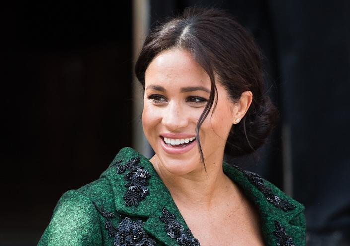 How has the Duchess of Sussex's style changed since the royal wedding? [Photo: Getty]
