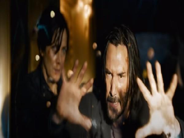 A still from 'The Matrix Resurrections' trailer (Image source: YouTube)