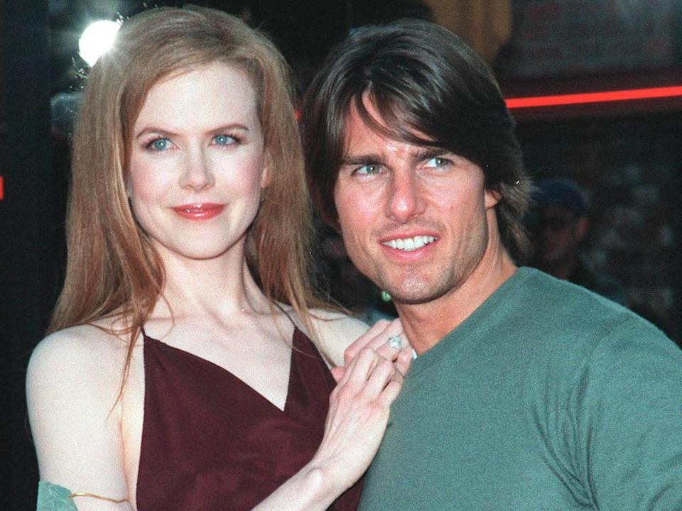 "Tom Cruise und Nicole Kidman 1999 bei der Premiere ihres Films ""Eyes Wide Shut"". (Bild: Featureflash Photo Agency/Shutterstock.com)"