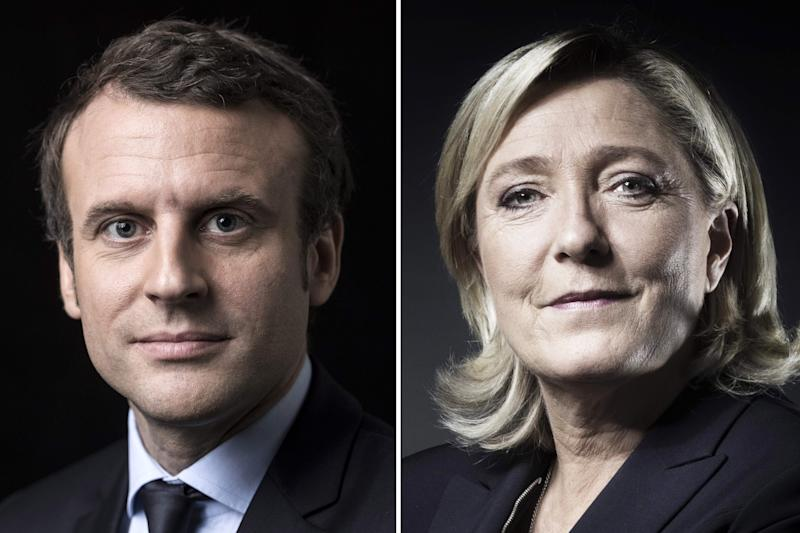 Tense French Election Concludes With Runoff Between Marine Le Pen and Emmanuel Macron
