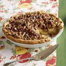 """<p>What's more American than a good ol' apple pie? Ree's version packs in extra goodness with the addition of caramel and pecans.</p><p><a href=""""https://www.thepioneerwoman.com/food-cooking/recipes/a11297/scrumptous-and-i-do-mean-scrumptous-apple-pie/"""" rel=""""nofollow noopener"""" target=""""_blank"""" data-ylk=""""slk:Get the recipe."""" class=""""link rapid-noclick-resp""""><strong>Get the recipe.</strong></a></p><p><a class=""""link rapid-noclick-resp"""" href=""""https://go.redirectingat.com?id=74968X1596630&url=https%3A%2F%2Fwww.walmart.com%2Fsearch%2F%3Fquery%3Dpie%2Bplates&sref=https%3A%2F%2Fwww.thepioneerwoman.com%2Ffood-cooking%2Fmeals-menus%2Fg32109085%2Ffourth-of-july-desserts%2F"""" rel=""""nofollow noopener"""" target=""""_blank"""" data-ylk=""""slk:SHOP PIE PLATES"""">SHOP PIE PLATES</a></p>"""