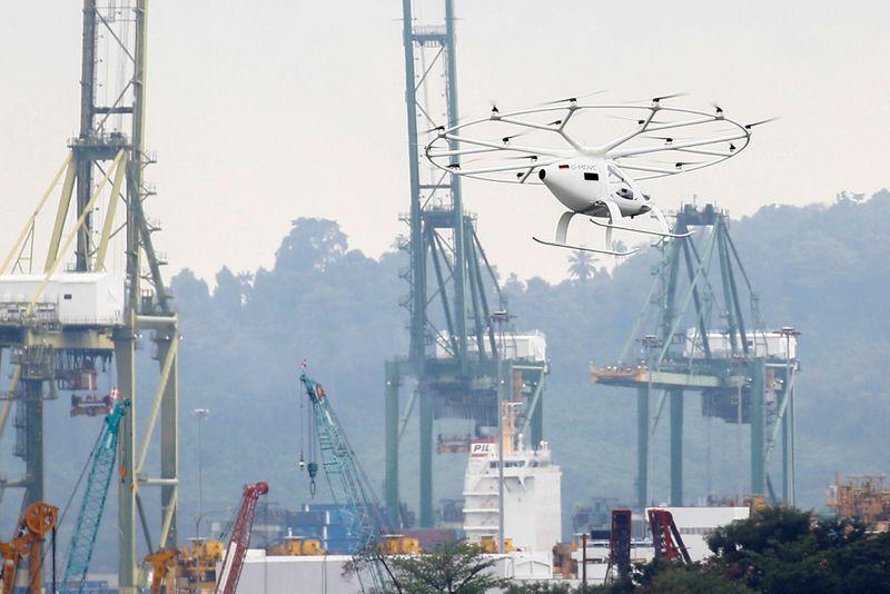 Air taxi firm Volocopter teams up with Schenker to deploy heavy-lift drones