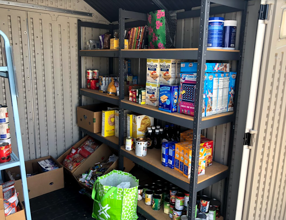 The city of Blue Mound opened its first food pantry this year to help residents and people living in surrounding communities facing food insecurity.
