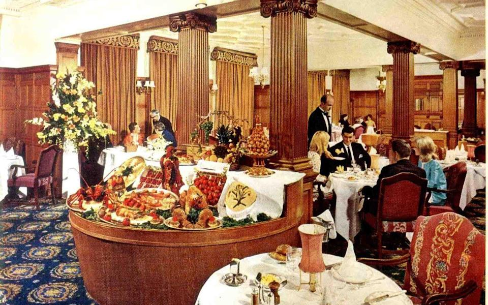 A snapshot of a previous dining experience at Brown's Hotel