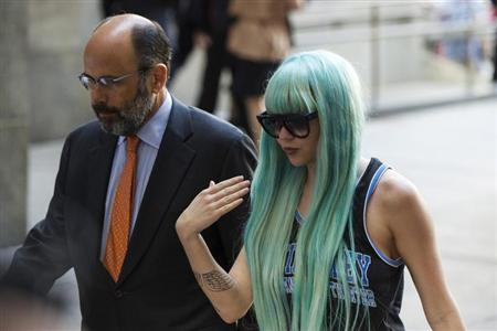 Actress Amanda Bynes arrives for a court hearing at Manhattan Criminal Court in New York