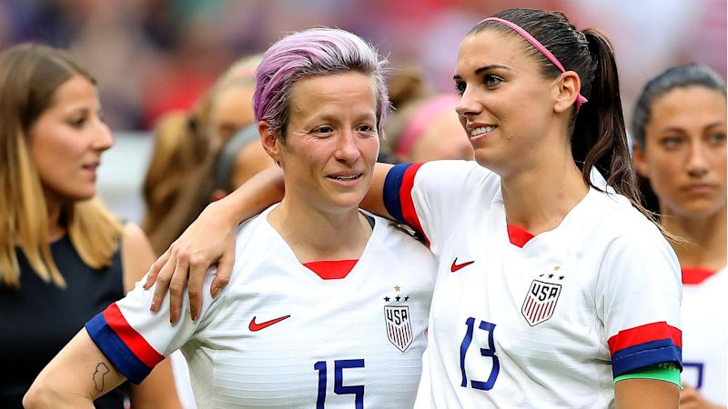 USA pair Rapinoe and Morgan up for FIFA Best honour