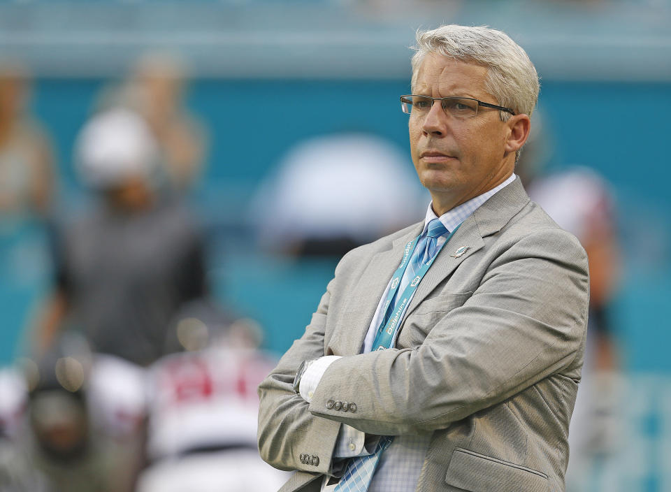 Bills senior college scout and former Dolphins general Manager Dennis Hickey has seen the scouting business change, but the core principles remain the same. (Getty Images)