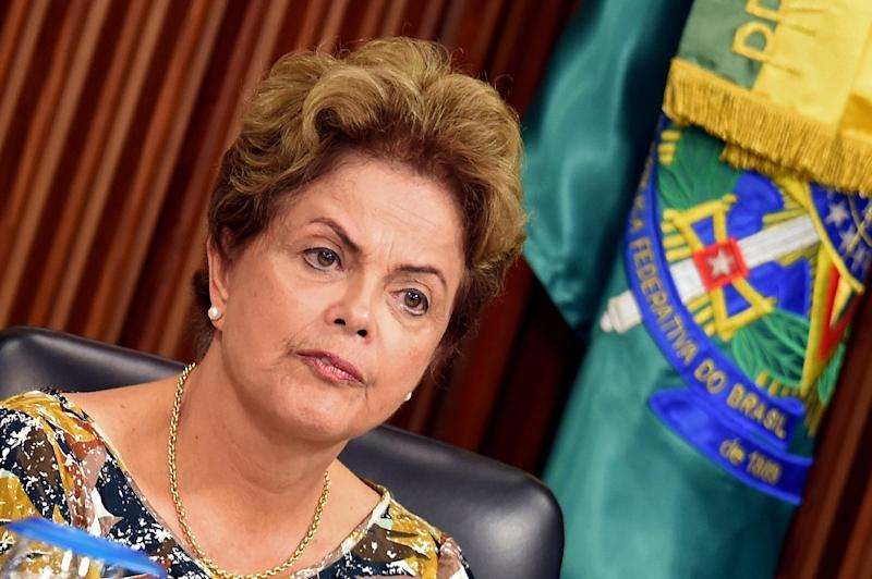 Brazil is going through a turbulent economic period with deep recession, rising unemployment, and a dramatic drop in investor confidence fueled by an impeachment drive against President Dilma Rousseff (AFP Photo/Evaristo Sa)