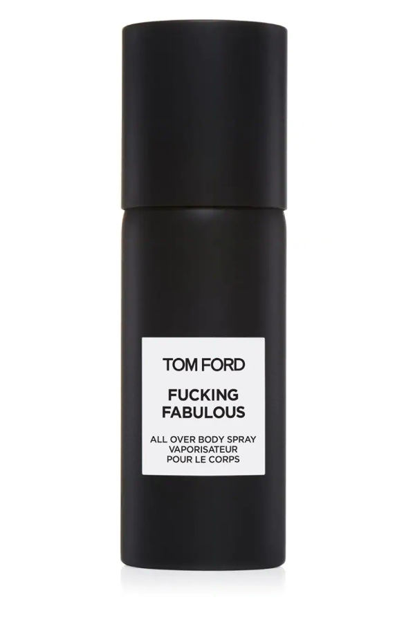 "<p><strong>Tom Ford </strong></p><p>saksfifthavenue.com</p><p><strong>$95.00</strong></p><p><a href=""https://go.redirectingat.com?id=74968X1596630&url=https%3A%2F%2Fwww.saksfifthavenue.com%2Fsaks%2Fproduct%2F0400099652766&sref=https%3A%2F%2Fwww.harpersbazaar.com%2Ffashion%2Ftrends%2Fg4473%2Fmens-holiday-gift-guide%2F"" rel=""nofollow noopener"" target=""_blank"" data-ylk=""slk:Shop Now"" class=""link rapid-noclick-resp"">Shop Now</a></p><p>Give him a little confidence boost with this luxe all-over body spray.</p>"