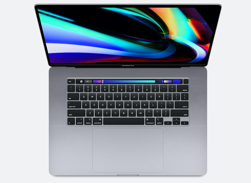 Apple's current MacBook Pro 16-inch is powered by Intel's processors. (Image: Apple)