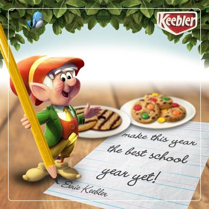 You just knew the Keebler Elves put an extra dash of love in their cookies.