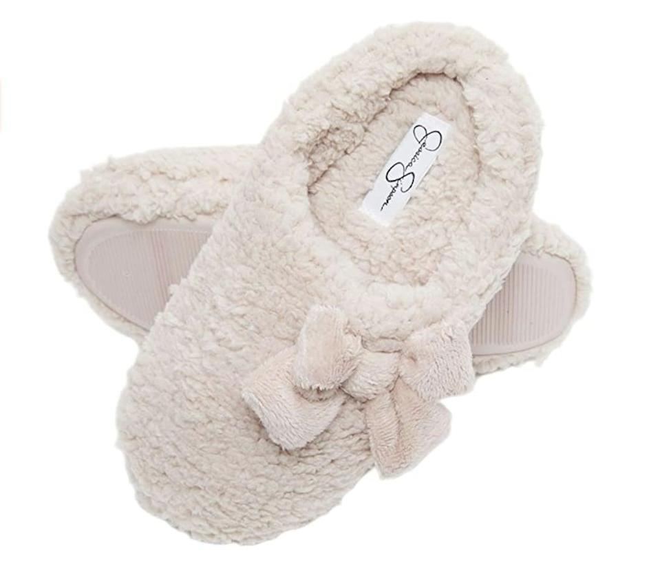 <p>These <span>Marshmallow House Slippers</span> ($17 - $25) will keep feet toasty warm.</p>