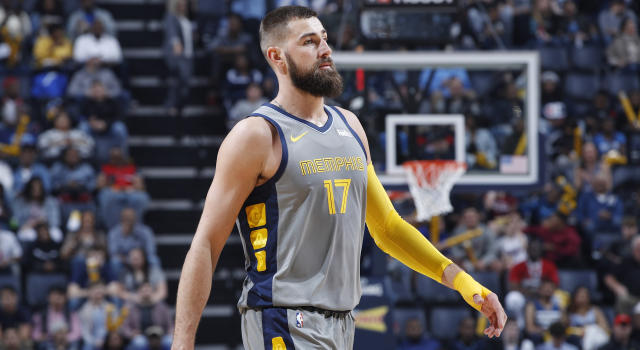 MEMPHIS, TN - Jonas Valanciunas and the Memphis Grizzlies have agreed to a deal. (Photo by Joe Robbins/Getty Images)
