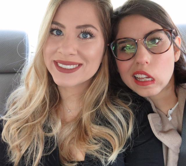 Julia Hernandez suffered a severe stroke that left half of her face paralyzed, and her twin sister, Sophia, and a surgeon are helping her to regain her smile. (Photo: Courtesy of Julia Hernandez)