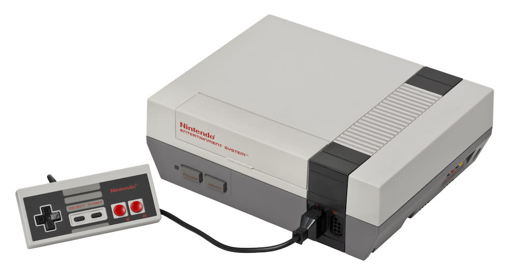 <p>First released back in 1983, the Nintendo Entertainment System (NES) was considered the best console of its time. The classic 8-bit machine gave a much-needed boost to the struggling games industry but was eventually discontinued in 1995. (Evan-Amos/Wikipedia) </p>