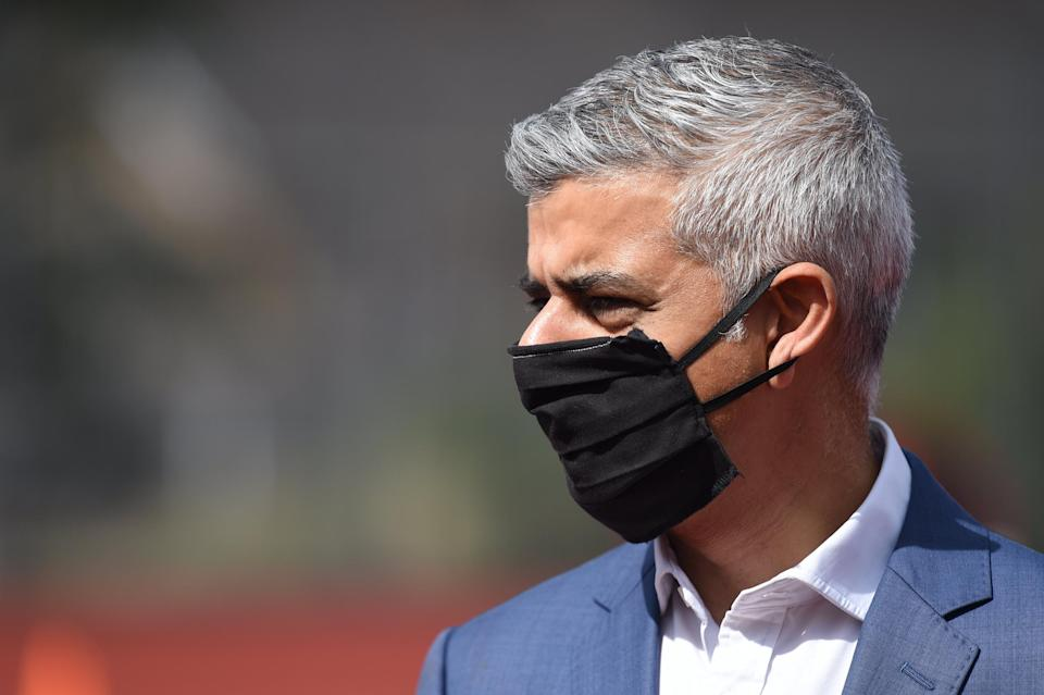<p>Sadiq Khan today called on the Government to offer additional support to London businesses post-furlough</p>Daniel Hambury