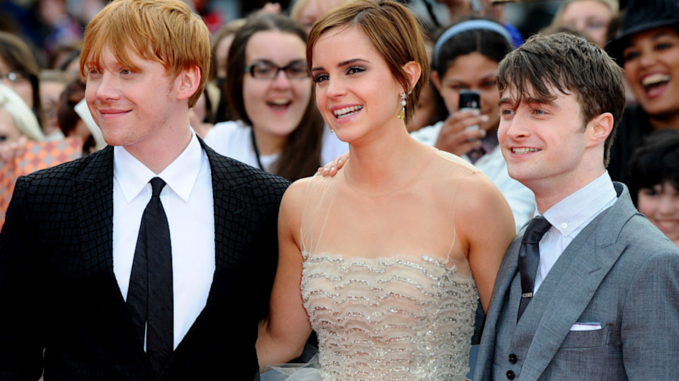 Emma Watson came to fame in the Harry Potter franchise. Here's what she's doing now. (Image: Getty).