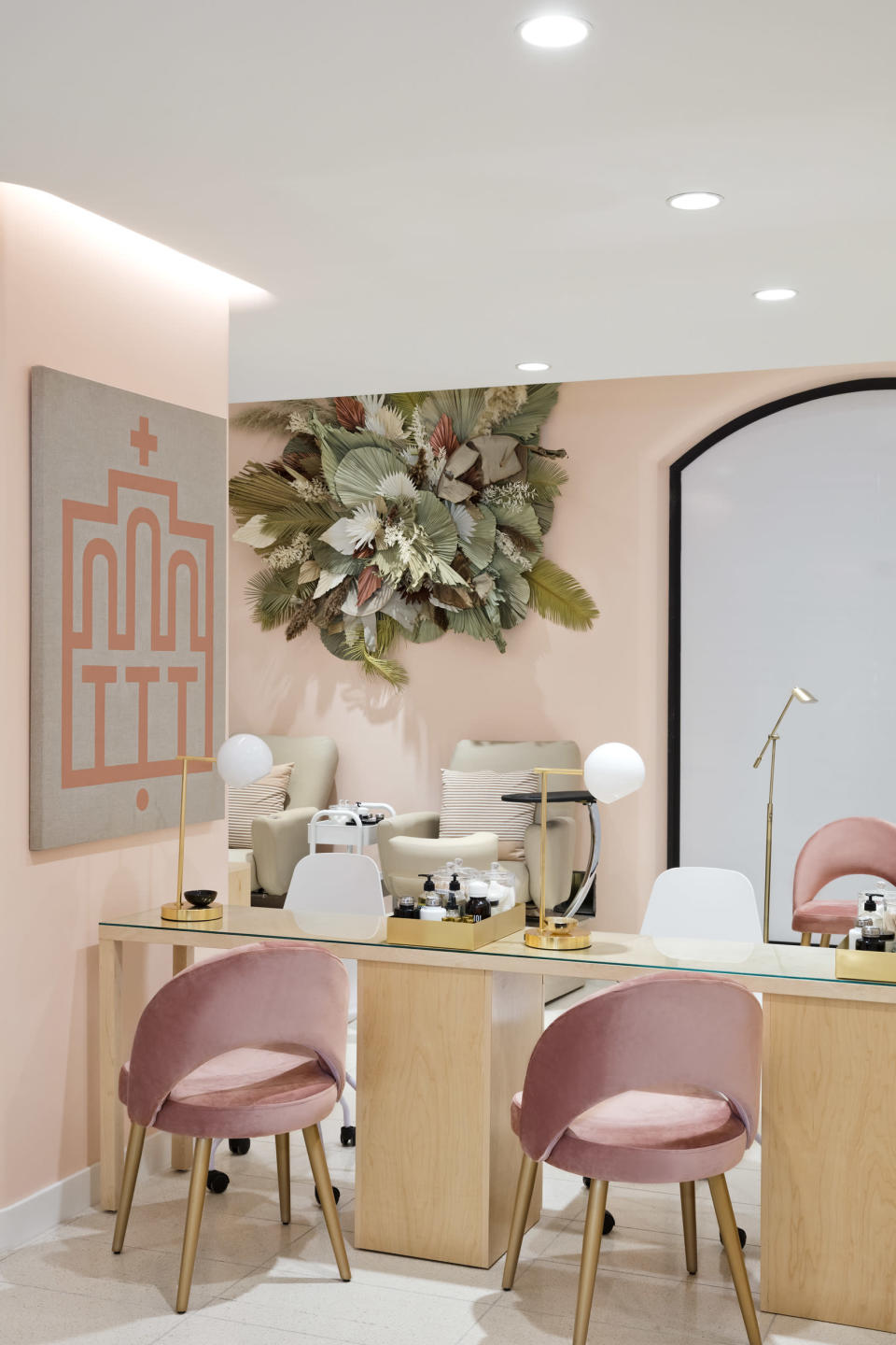 Services such as spa treatments, nails and brows are offered at Nordstrom's NYC flagship. - Credit: Courtesy Image.