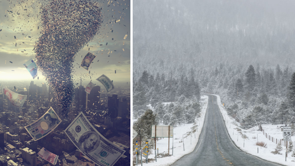 This is how a harsh winter could send the energy sector into crisis. (Images: Getty).