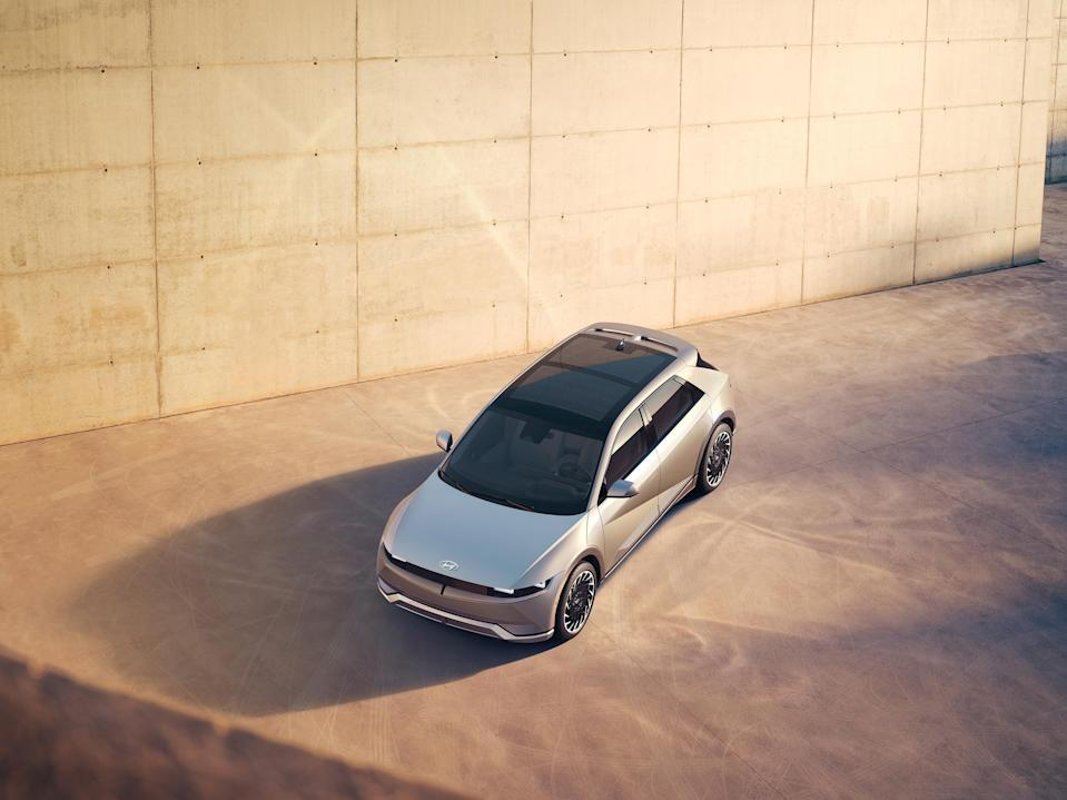Hyundai Motor Company today launched the IONIQ 5 midsize CUV during a virtual world premiere event.