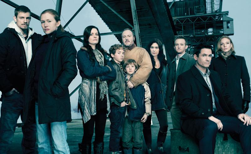 """The cast of """"The Killing"""""""