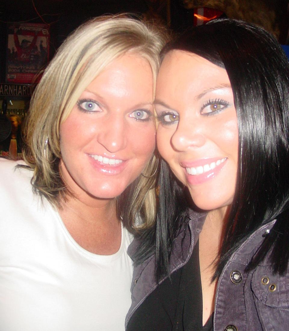 Missy Armstrong and Sara Hankins