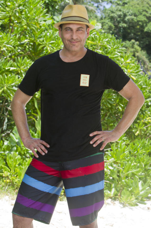 "<b>Jonathan Penner </b><br>							 <b>Age: </b> 50<br> <b>Previous Season:</b> ""Survivor: Cook Islands"" and ""Survivor: Micronesia""<br>			 <b>Previous Finish:</b> ""Cook Island"" -- 14th out, 6th jury member, ""Micronesia"" -- medical evacuation due to knee infection.<br> <b>Current Residence: </b> Los Angeles, California<br>						 <b>Occupation: </b> Writer <br> <b>Tribe: </b> Kalabaw"