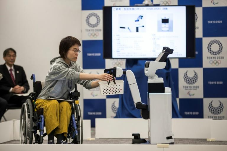 Other technological offerings at the 2020 Olympics will include robots designed to support people in wheelchairs
