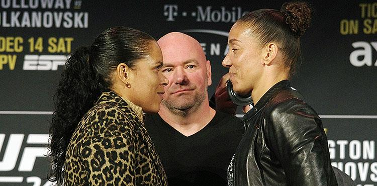 Image result for Amanda Nunes and Germaine de Randamie