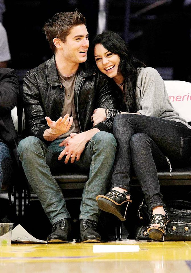 """""""Charlie St. Cloud"""" hottie Zac Efron is still going strong with his girlfriend and """"High School Musical"""" co-star Vanessa Hudgens, much to the dismay of teenage girls across the globe. Noel Vasquez/<a href=""""http://www.gettyimages.com/"""" target=""""new"""">GettyImages.com</a> - February 3, 2010"""
