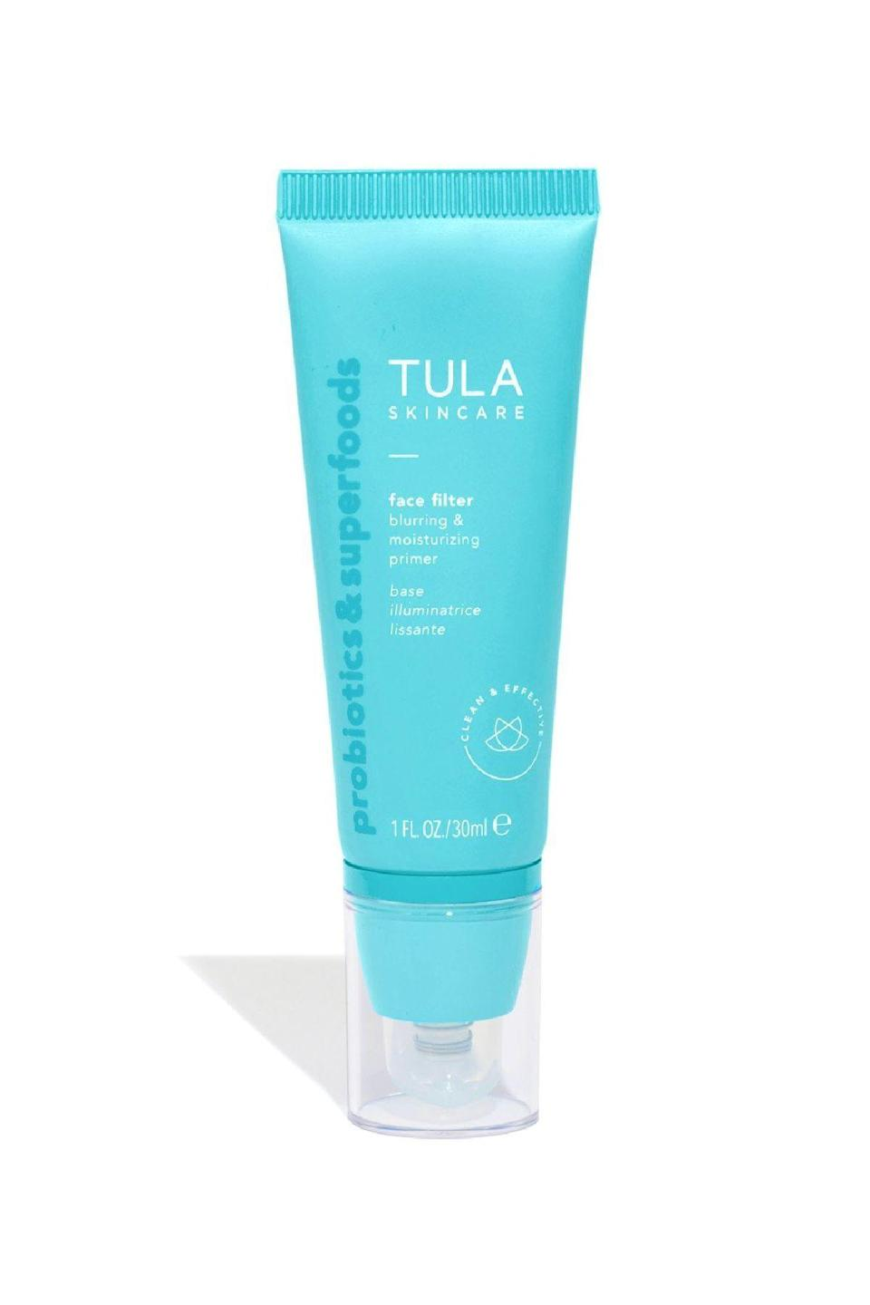 """<p><strong>Tula Skincare</strong></p><p>nordstrom.com</p><p><strong>$48.00</strong></p><p><a href=""""https://go.redirectingat.com?id=74968X1596630&url=https%3A%2F%2Fwww.nordstrom.com%2Fs%2Ftula-skincare-breakout-star-oil-free-acne-moisturizer%2F5544927&sref=https%3A%2F%2Fwww.marieclaire.com%2Fbeauty%2Fg34399769%2Fbest-oil-free-moisturizers%2F"""" rel=""""nofollow noopener"""" target=""""_blank"""" data-ylk=""""slk:SHOP IT"""" class=""""link rapid-noclick-resp"""">SHOP IT</a></p><p>When your skin is really broken out, layering on a thick cream is about as appealing as getting tarred and feathered. Here, two percent salicylic acid and brightening azaelic acid are suspended in an sumptuous featherlight cream, meaning your entire face can get both hydration and treatment at once.</p><p><strong><br></strong></p>"""