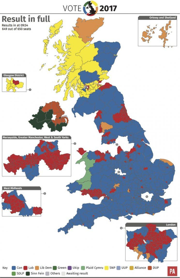 Campaigners are calling for electoral reform after the second hung parliament in seven years