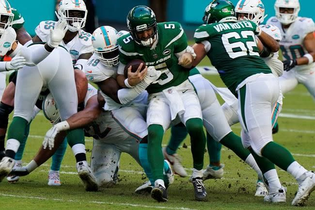 New low for Gase's Jets -- they're shut out by Miami, 24-0