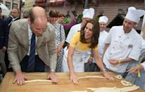 <p>She's really into a jam roly-poly or sticky toffee pudding accompaniment, for example. Yas, Kate, yas.</p>