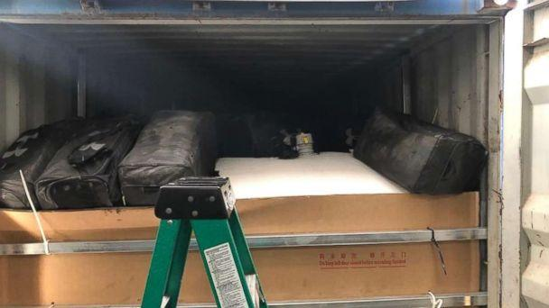 PHOTO: Authorities in Philadelphia announced the largest-ever cocaine bust in the port's history on Tuesday, March 19, 2019. (Provided)
