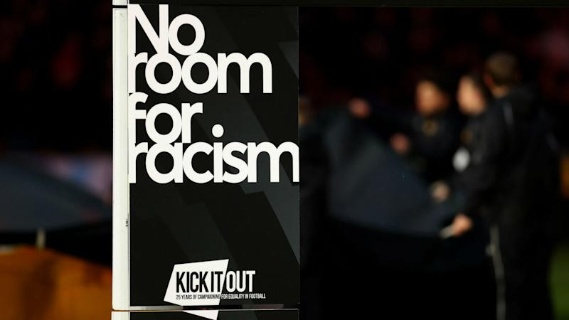 No room for racism football Kick it out