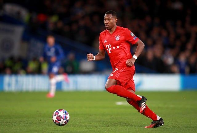 Two Premier League clubs will try and disrupt Real Madrid's plans to sign David Alaba