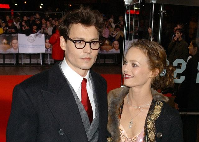 Vanessa Paradis was in a relationship with Johnny Depp for around 14 years. (Ian West/PA Archive/PA Images)