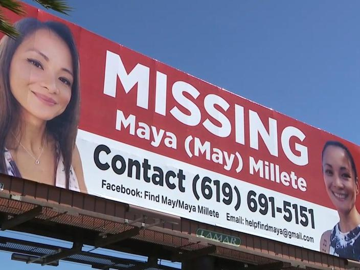 Maya Millete went missing in January after making an appointment with a divorce lawyer.  (Fox 5 San Diego)