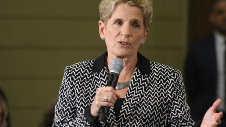 Premier Kathleen Wynne appears at first campaign event since Doug Ford elected PC leader