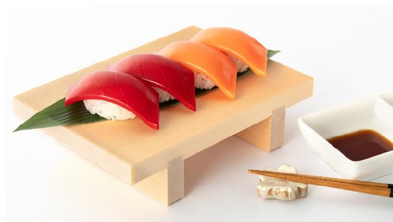 Photo of Tuna And Salmon Sushi Model