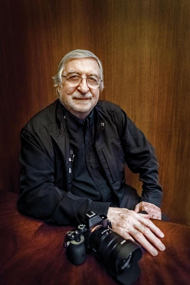 "<p>Portrait of Jean-Pierre Laffont. (Photograph by S. Matamoros, ""New York City Up and Down"" by Jean-Pierre Laffont, copyright © 2017, published by Glitterati Inc. www.GlitteratiIncorporated.com) </p>"
