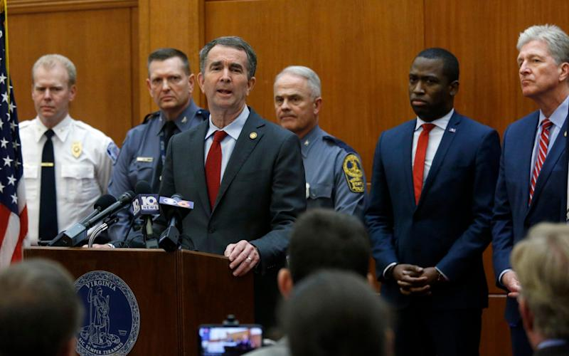 Ralph Northam, Virginia's governor, declared a state of emergency ahead of the rally - Richmond Times-Dispatch