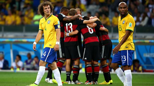 Brazil vs Germany 2014 World Cup